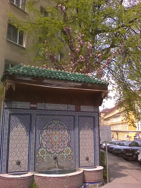 Moroccan Fountain, Vienna
