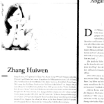 LEUCHTSPUR 008 Zhang Huiwen
