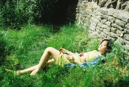 Chun Sue in der Sonne