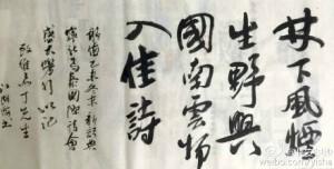 Jiang Huhai calligraphy3