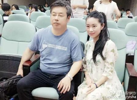 Yi Sha mit Studentin